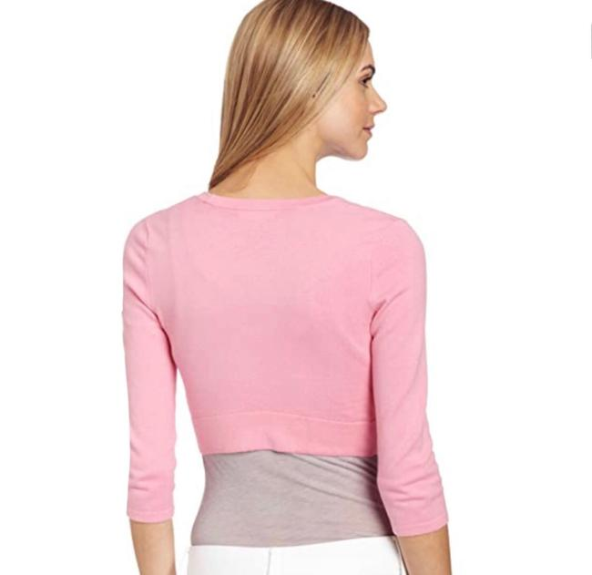 Item - Pink Open Front Cardigan Size 8 (M)