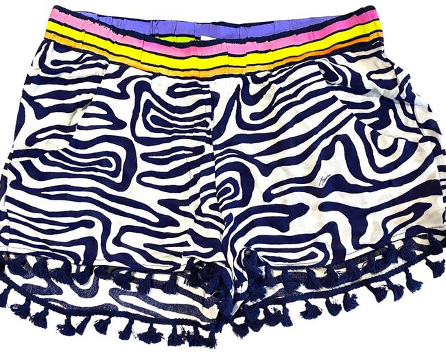 Item - Blue Spa Collection Beach Shorts Zebra Cover-up/Sarong Size 4 (S)