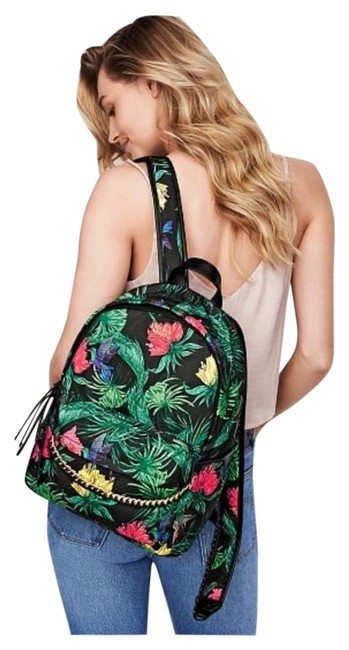 Item - Hot Tropic City Green Polyester Backpack