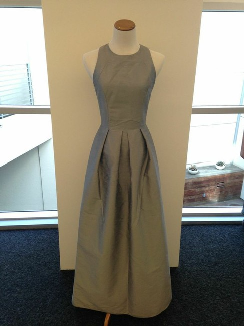 Item - Quarry (Grey) Grey Floor Length Gown Gown Long Formal Dress Size 6 (S)