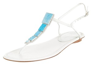 Sergio Rossi White Sandals