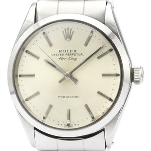 Rolex Vintage ROLEX Air King 5500 Stainless Steel Automatic Mens Watch
