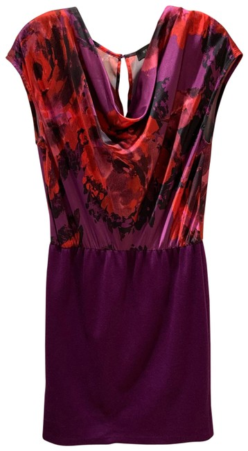 Item - Purple Mid-length Night Out Dress Size 6 (S)