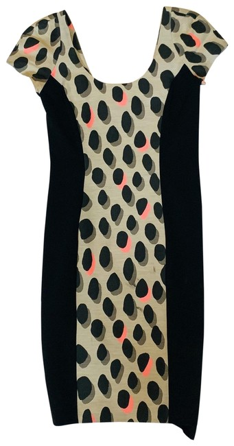Item - Pink and Black 598 Mid-length Formal Dress Size 6 (S)