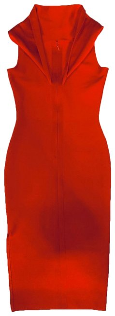 Item - Red 597 Mid-length Formal Dress Size 8 (M)