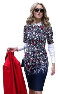 Boden Floral Sheath Career Dress