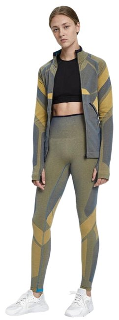 Item - Yellow Spright Seamless Running Jacket Activewear Top Size 8 (M)