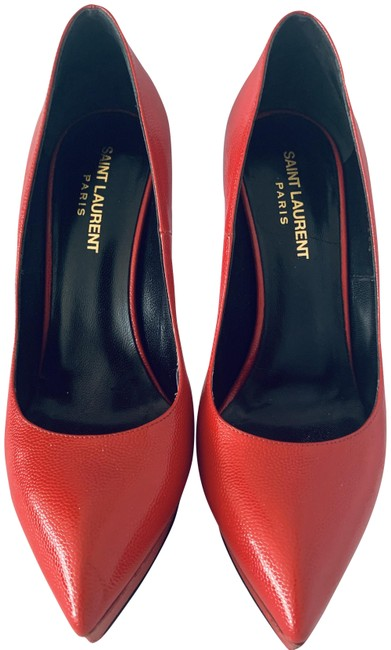 Item - Red Janis Pumps Size EU 38.5 (Approx. US 8.5) Regular (M, B)