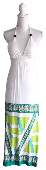Rubber Ducky Productions, Inc. White Long Casual Maxi Dress Size 6 (S) Rubber Ducky Productions, Inc. White Long Casual Maxi Dress Size 6 (S) Image 1