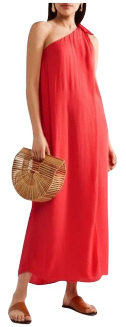Item - Red Orange Dress Cover-up/Sarong Size 8 (M)