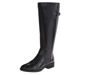 Sam Edelman Riding Knee-high Leather Black Boots