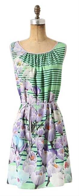 Preload https://item1.tradesy.com/images/anthropologie-multicolor-dream-daily-green-purple-floral-stripe-yonina-mid-length-cocktail-dress-siz-2752495-0-0.jpg?width=400&height=650