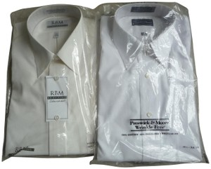 Preswick & Moore Wrinkle Free Button Down Shirt