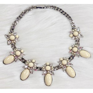 Givenchy Couture Gem & Chain Statement Necklace