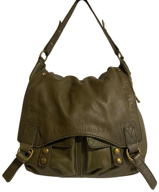 Item - Handbag Green Leather Hobo Bag