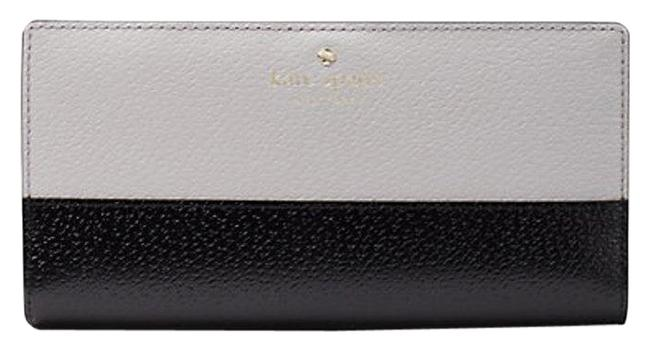 Item - Stone Ice/Black New Grand Street Colorblock Large Stacy Wallet