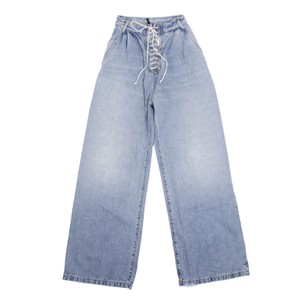 Unravel Project Denim Cotton Flare Leg Jeans-Light Wash