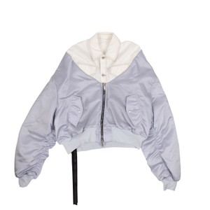 Unravel Project Cotton White Jacket