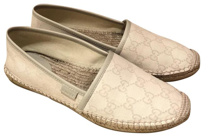 Gucci Gg Canvas Espadrille Flats Size EU 37 (Approx. US 7) Regular (M, B) Gucci Gg Canvas Espadrille Flats Size EU 37 (Approx. US 7) Regular (M, B) Image 1