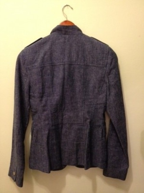 Banana Republic Grey-blue Demin-like fabric Blazer