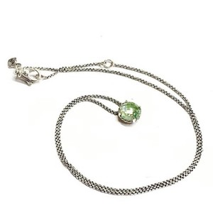 David Yurman GORGEOUS!! David Yurman Faceted Prasiolite Chatelaine Necklace