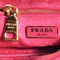 Prada Tessuto Saffiano Fuxia Gold Hardware 1bh085 Pink Nylon Cross Body Bag Prada Tessuto Saffiano Fuxia Gold Hardware 1bh085 Pink Nylon Cross Body Bag Image 7