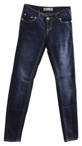 Paris Blues Skinny Jeans-Dark Rinse