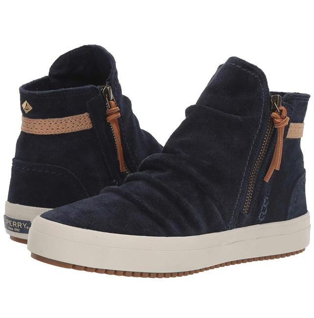 Item - Navy Blue Crest Lug Zone - Sts84157 Boots/Booties Size US 8 Regular (M, B)