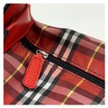 Burberry Red Canvas Satchel Burberry Red Canvas Satchel Image 9