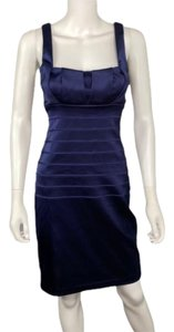 Xscape Bodycon Fitted Satin Dress