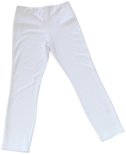"Item - White New Without Tags ""April"" Ankle Stretch Leggings Size 8 (M, 29, 30)"