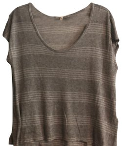 Soft T Shirt grey/white stripped