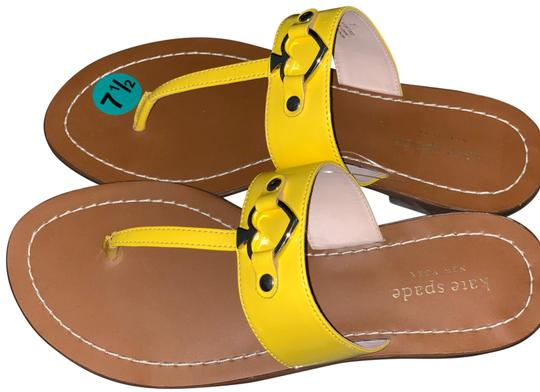 Kate Spade Yellow Sandals Size US 7.5