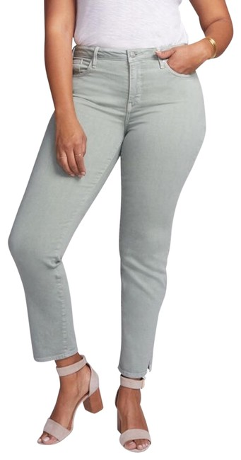 Item - Desert Willow Light Wash Curves 360 Slim Ankle Straight Leg Jeans Size 22 (Plus 2x)