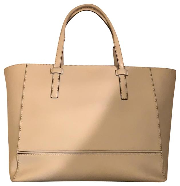Item - Bag Light Gray Leather Tote
