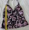 Sunsets Brown Pink Gold - Soft Cup Halter Tankini Size 8 (M) Sunsets Brown Pink Gold - Soft Cup Halter Tankini Size 8 (M) Image 5