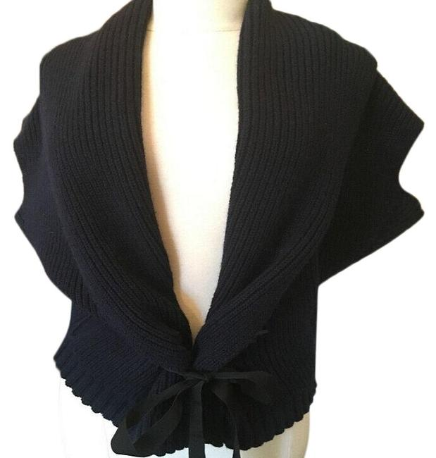 Item - Navy Blue Wool Cashmere Sweater Cardigan Size OS (one size)