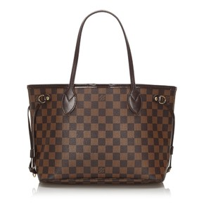 Louis Vuitton 0flvto044 Vintage Leather Tote in Brown