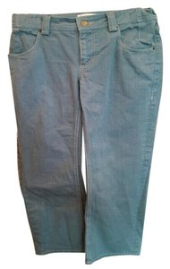 Mayle Full Length Cotton Straight Leg Jeans-Medium Wash