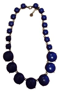 Talbots New Navy Talbots circular bead necklace