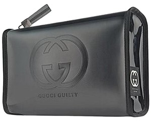 Gucci GUCCI GUILTY POUR HOMME AUTHENTIC MAKEUP COSMETIC CASE TOILETRIES POUCH BAG !