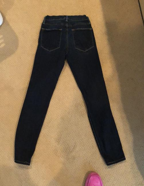 FRAME Distressed Le High Skinny Jeans Size 2 (XS, 26) FRAME Distressed Le High Skinny Jeans Size 2 (XS, 26) Image 2
