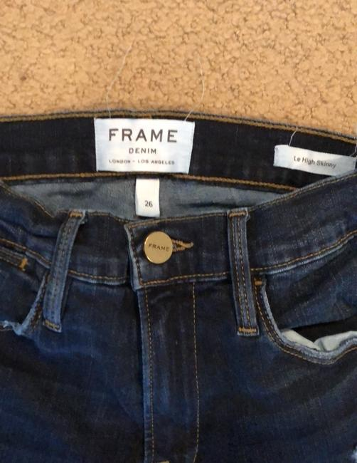 FRAME Distressed Le High Skinny Jeans Size 2 (XS, 26) FRAME Distressed Le High Skinny Jeans Size 2 (XS, 26) Image 3