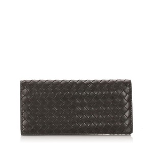 Bottega Veneta Bottega Veneta Intrecciato Leather Bifold Wallet
