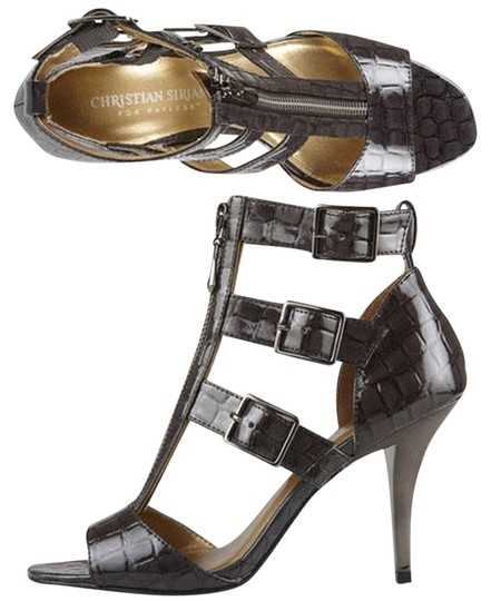 Christian Siriano Exotic Sandals