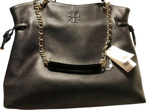 Tory Burch Thea Slouchy 60230 Chain Tote in Black