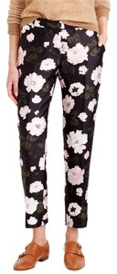 J.Crew Straight Pants midnight floral