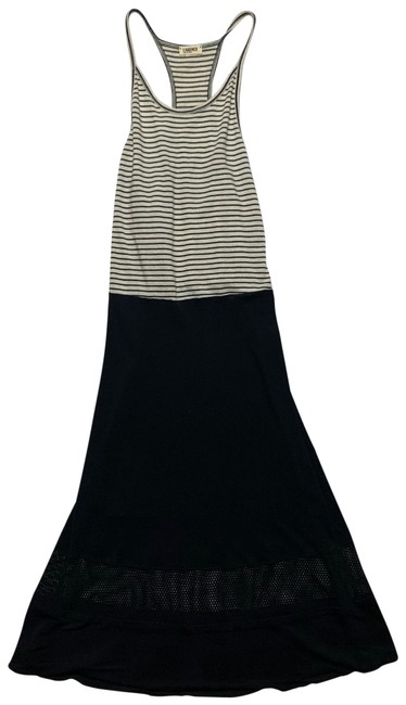 Item - Black and White 609 Long Casual Maxi Dress Size 8 (M)