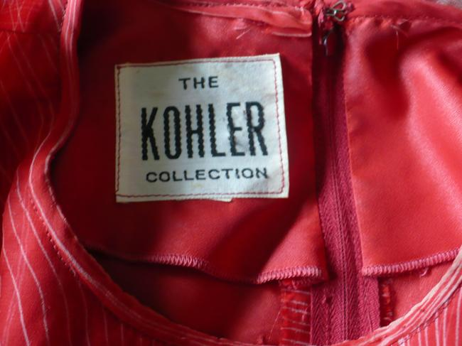 The Kohler Collection Cape Tiered Layered Vintage 70's Dress