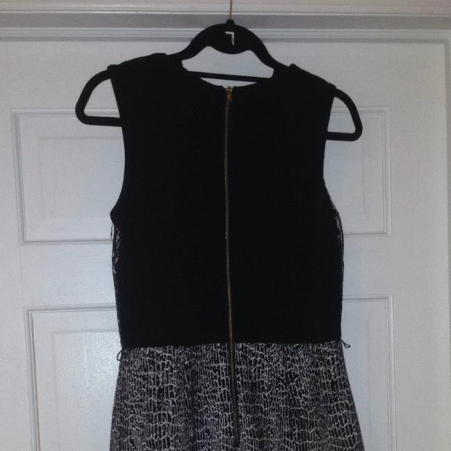 Just Taylor short dress Black And White on Tradesy